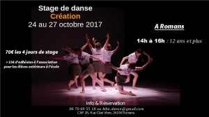 2017-10 affiche stage octobre